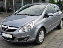 Opel Corsa Paris 16e Arrondissement
