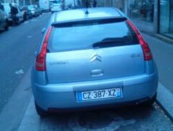 Citroën C4 Paris 18e Arrondissement